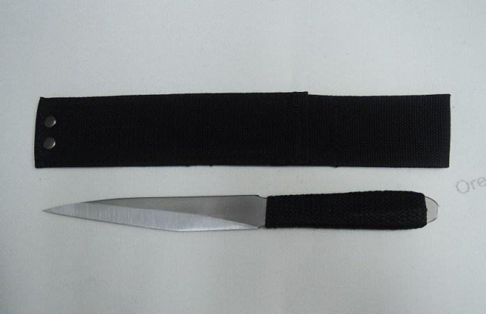 Спортивный нож из стали 65Х13 Искра