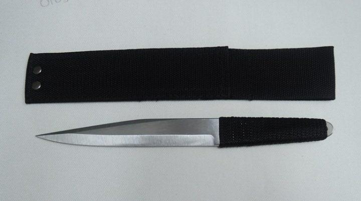 Спортивный нож из стали 65Х13 Кристалл