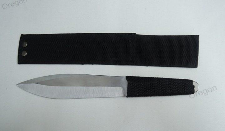 Спортивный нож из стали 65Х13 Радуга
