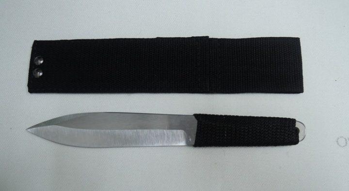 Спортивный нож из стали 65Х13 Салют