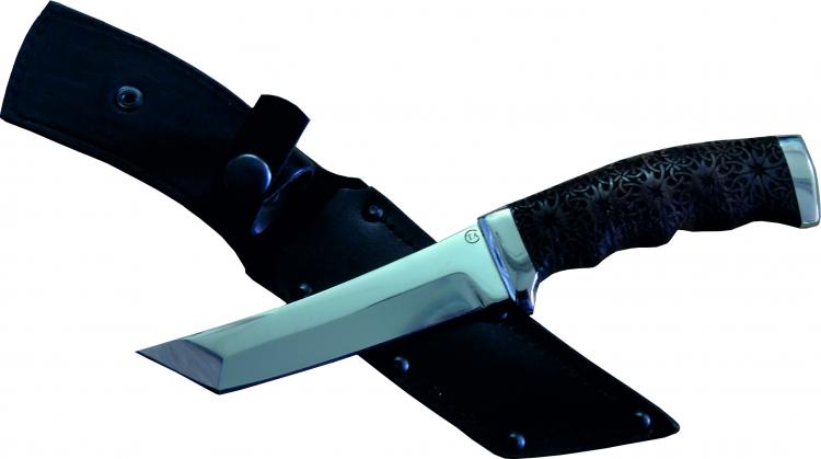 Нож из стали 95Х18 Аркан, рукоять кожа