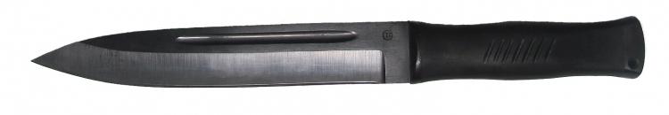 Нож из стали 65Г Горец, рукоять резина
