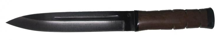 Нож из стали 65Г Горец, рукоять текстолит