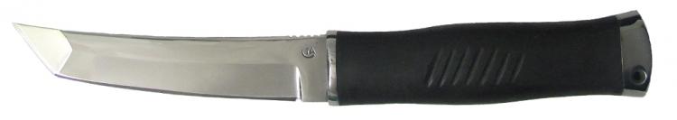 Нож из стали 65Х13 Кабан 1М, рукоять резина