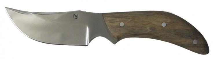 Нож из стали 65Х13 Крот, рукоять орех